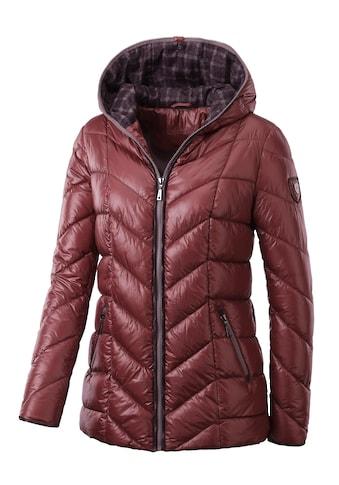 Casual Looks Jacke mit kontrastfarbigen Akzenten kaufen