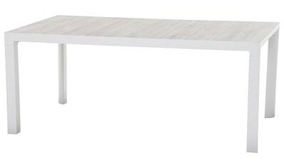 SIENA GARDEN Gartentisch »Carlos«, Aluminium, 180x100 cm kaufen