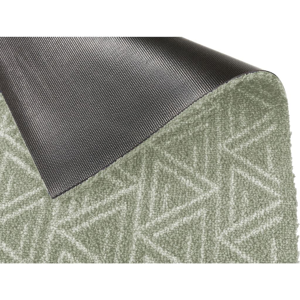SCHÖNER WOHNEN-Kollektion Fußmatte »Manhattan 005«, rechteckig, 7 mm Höhe, Schmutzfangmatte, waschbar