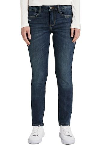 TOM TAILOR Straight-Jeans »Alexa«, mit leichten Used-Effekten kaufen