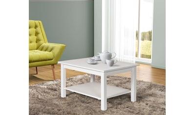 Home affaire Couchtisch »Tracy«, aus Kiefer massiv mit Ablagefläche, Breite 90 cm kaufen