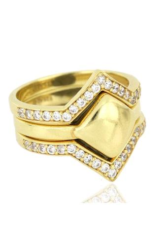 JULES & GENTS Ring - Set »#kairo Gold« kaufen