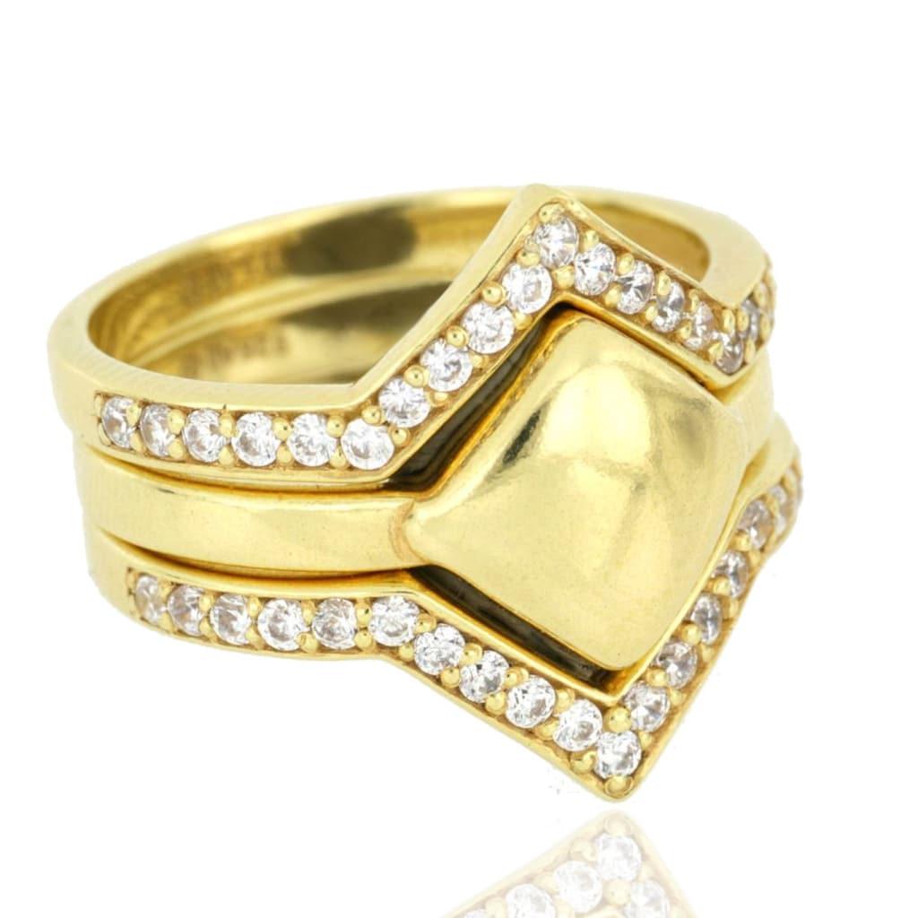 JULES & GENTS Ring-Set »#kairo Gold«