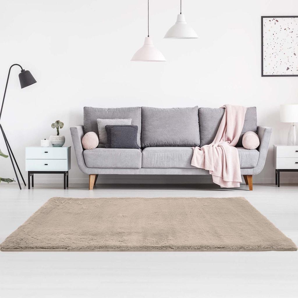 Festival Hochflor-Teppich »Soft Touch 900«, rechteckig, 30 mm Höhe, besonders weich durch Mircofaser, Wohnzimmer
