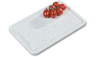 KESPER for kitchen & home Tranchierbrett »Profi«, mit Saftrille kaufen