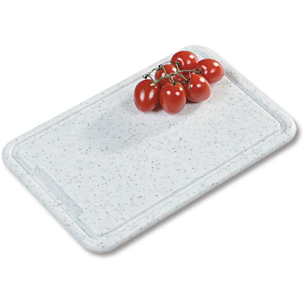 KESPER for kitchen & home Tranchierbrett »Profi«, mit Saftrille