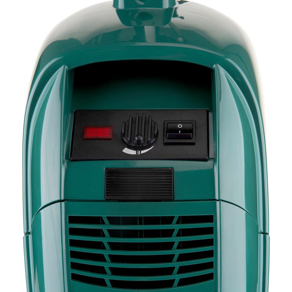 Omega Stielstaubsauger »APART Turbo & Parkett«, 800 W, mit Beutel, Turbo- und Parkettbürste, umschaltbare Bodendüse, Polster- und Fugendüse
