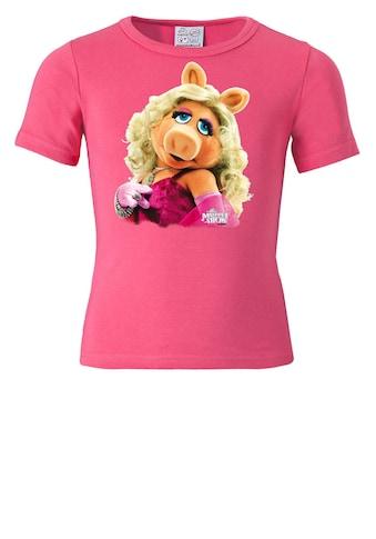 LOGOSHIRT T-Shirt mit Schweinediva Portrait-Druck kaufen