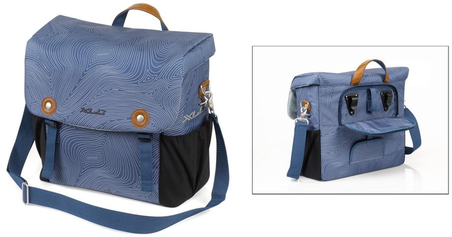 XLC Schultertasche blau Herren Taschen