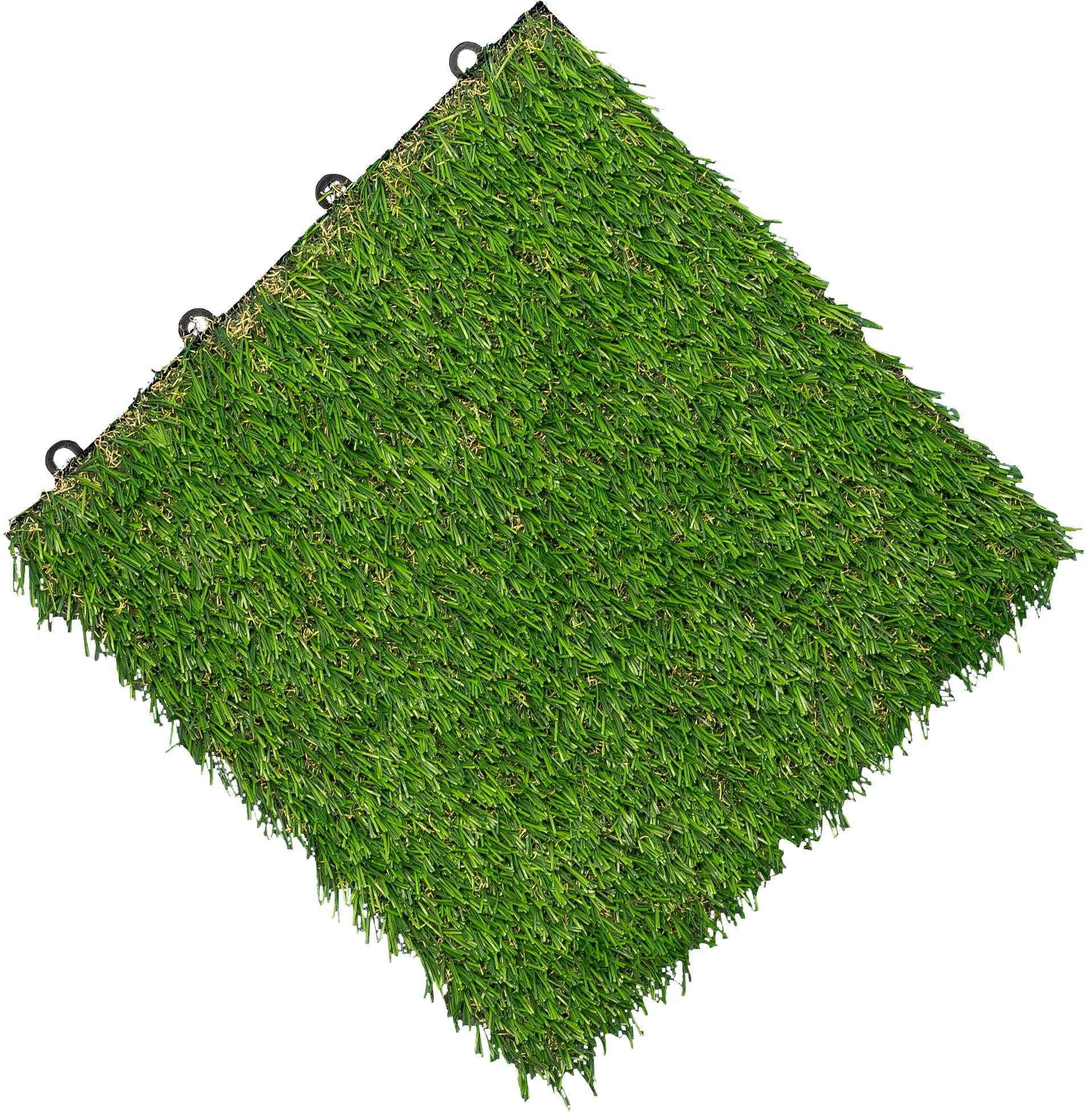 florco Klickfliesen, 0,99 m² grün Klickfliesen Fliesen Bodenbeläge Bauen Renovieren