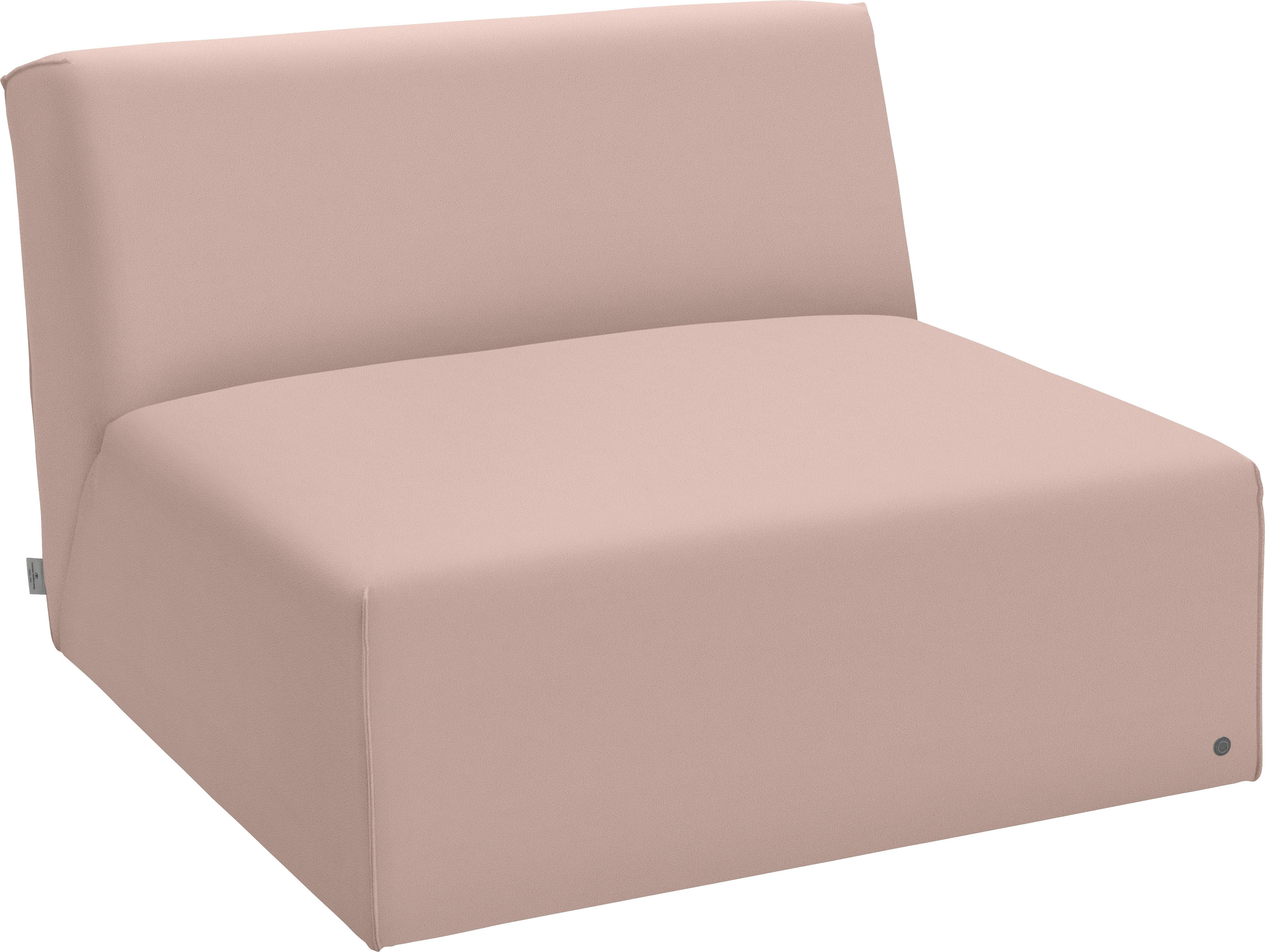 TOM TAILOR Sofaelement ELEMENTS, Sitzelement ohne Armlehne rosa Sofaelemente Sofas Couches