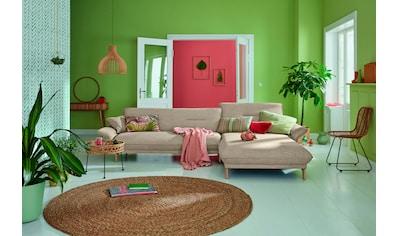 hülsta sofa Ecksofa »hs.430«, Recamiere hoher Rücken mit Neigefunktion, Breite 285 cm kaufen