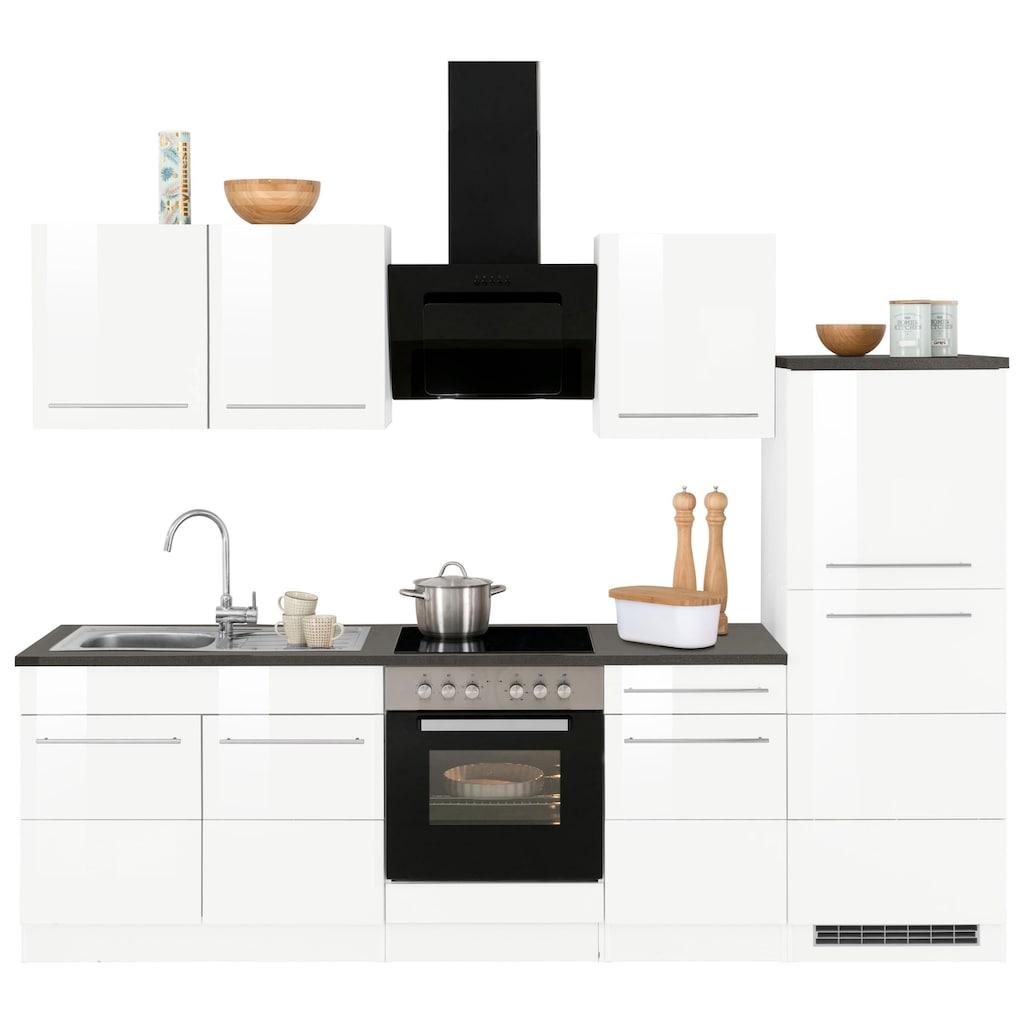 HELD MÖBEL Küchenzeile »Trient«, ohne E-Geräte, Breite 270 cm