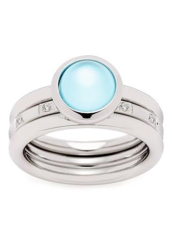 LEONARDO Fingerring »Set/2 Ring Momento, 021326, 021327, 021328«, (Set, 2 tlg.), mit... kaufen