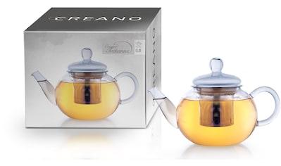 Creano Teekanne, 0,8 l, (1), Glas, inkl. Teesieb kaufen
