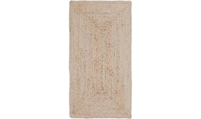 LUXOR living Teppich »Salo«, rechteckig, 6 mm Höhe, natürliche Materialien, Boho-Stil, Wohnzimmer kaufen