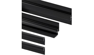 SCHULTE Profil »Decodesign Set«, schwarz, 255 cm kaufen