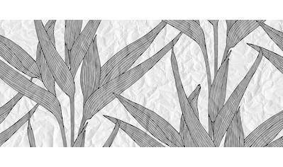 ARCHITECTS PAPER Fototapete »Atelier 47 White Paper Leaves 1«, Palmen, 3D - Optik kaufen