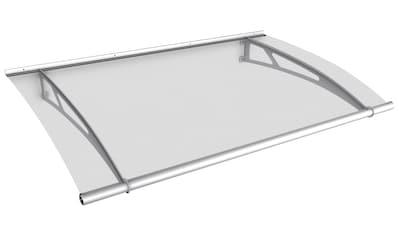 Gutta Pultvordach »Edelstahl«, 150x95x17 cm, silberfarben - transparent kaufen