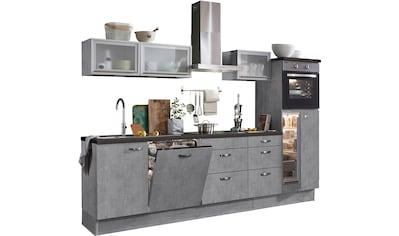 OPTIFIT Küchenzeile »Cara«, ohne E - Geräte, Breite 280 cm kaufen