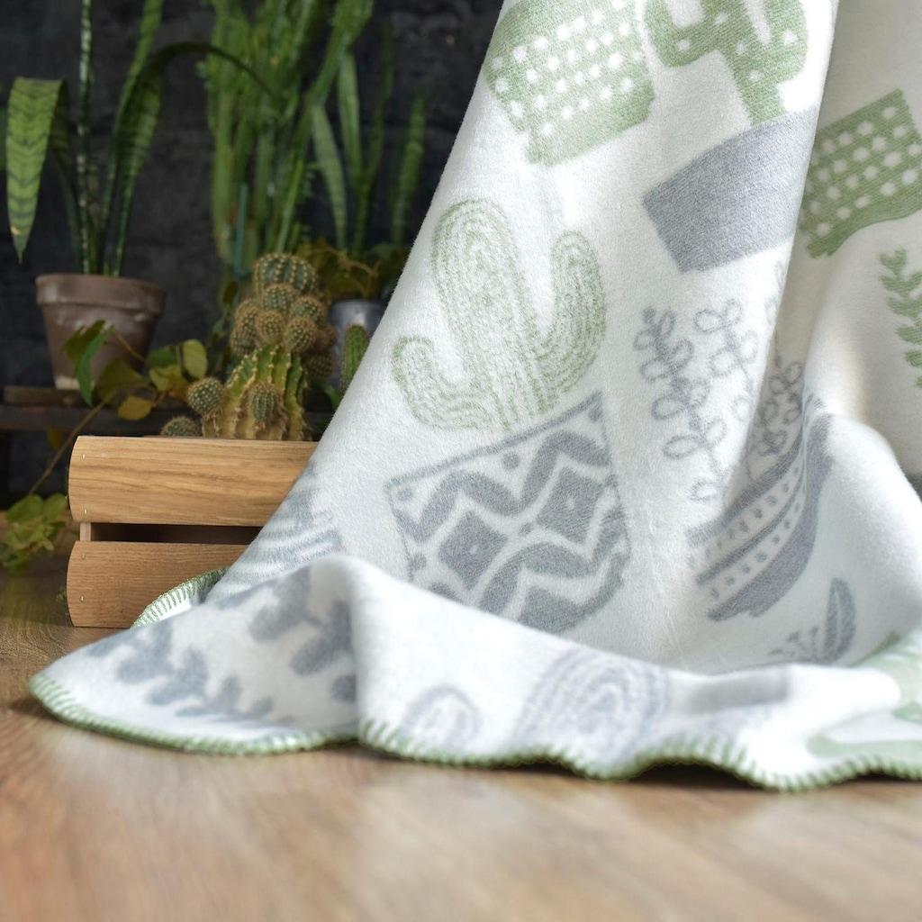 SEI Design Wohndecke »Kassandra«, mit Kakteen