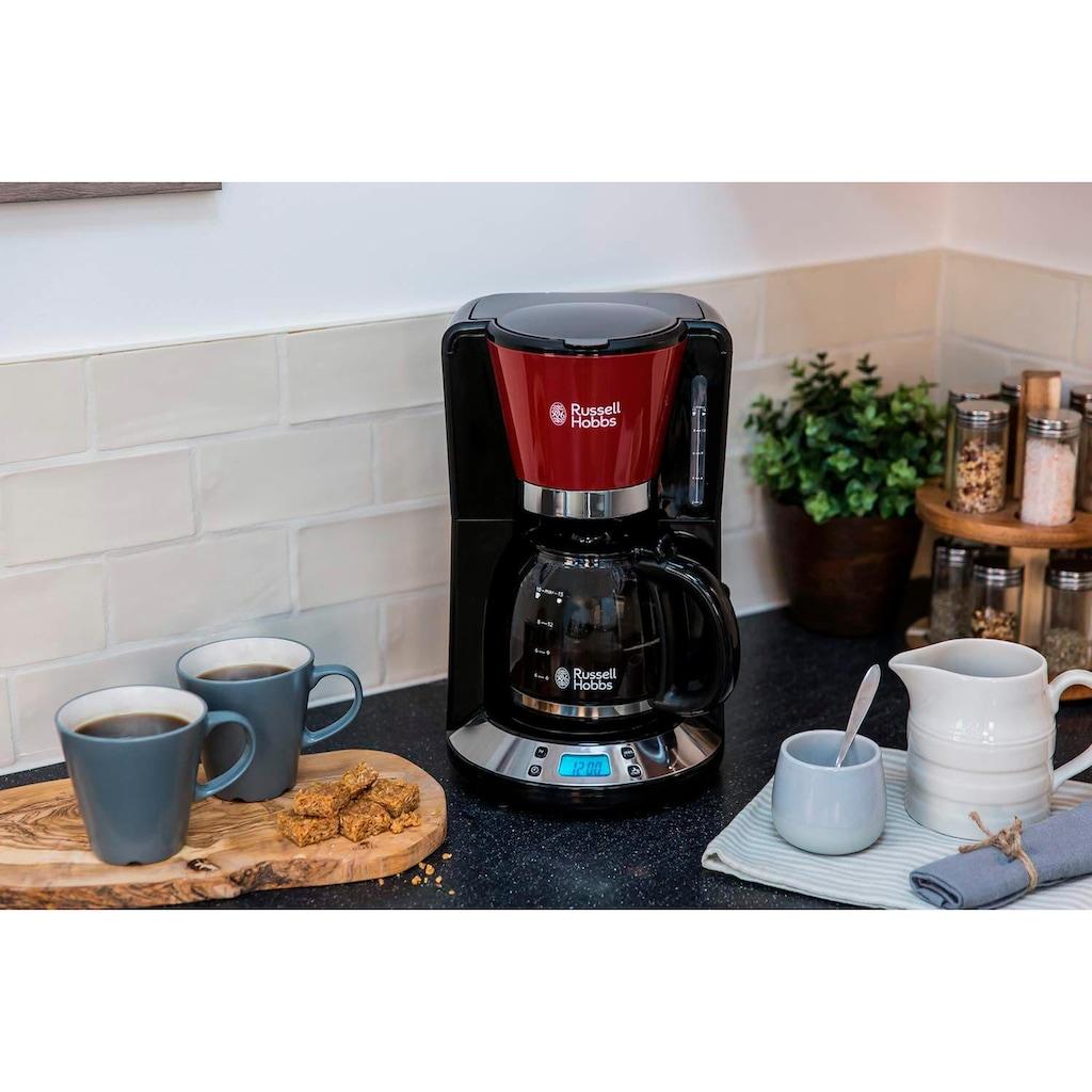 RUSSELL HOBBS Filterkaffeemaschine »Colours Plus+ Flame Red 24031-56«, Papierfilter, 1x4