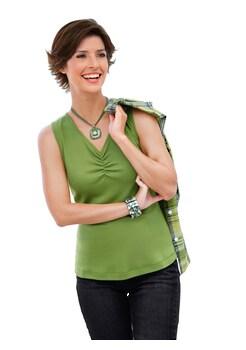96f951f07ef4c0 Casual Looks Bluse + Top aus reiner Baumwolle kaufen