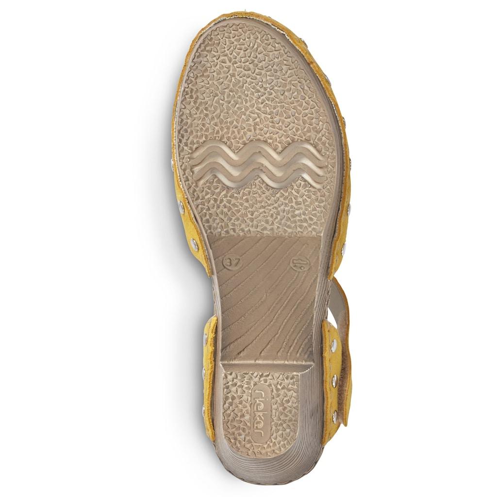 Rieker Sandalette, in aktueller Trendfarbe