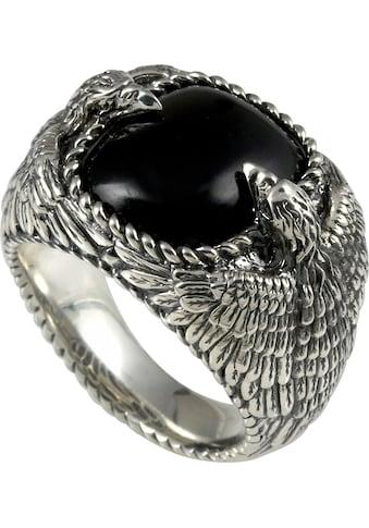 BALDESSARINI Silberring »Adler, Y2045R/90/E3«, mit Obsidian kaufen