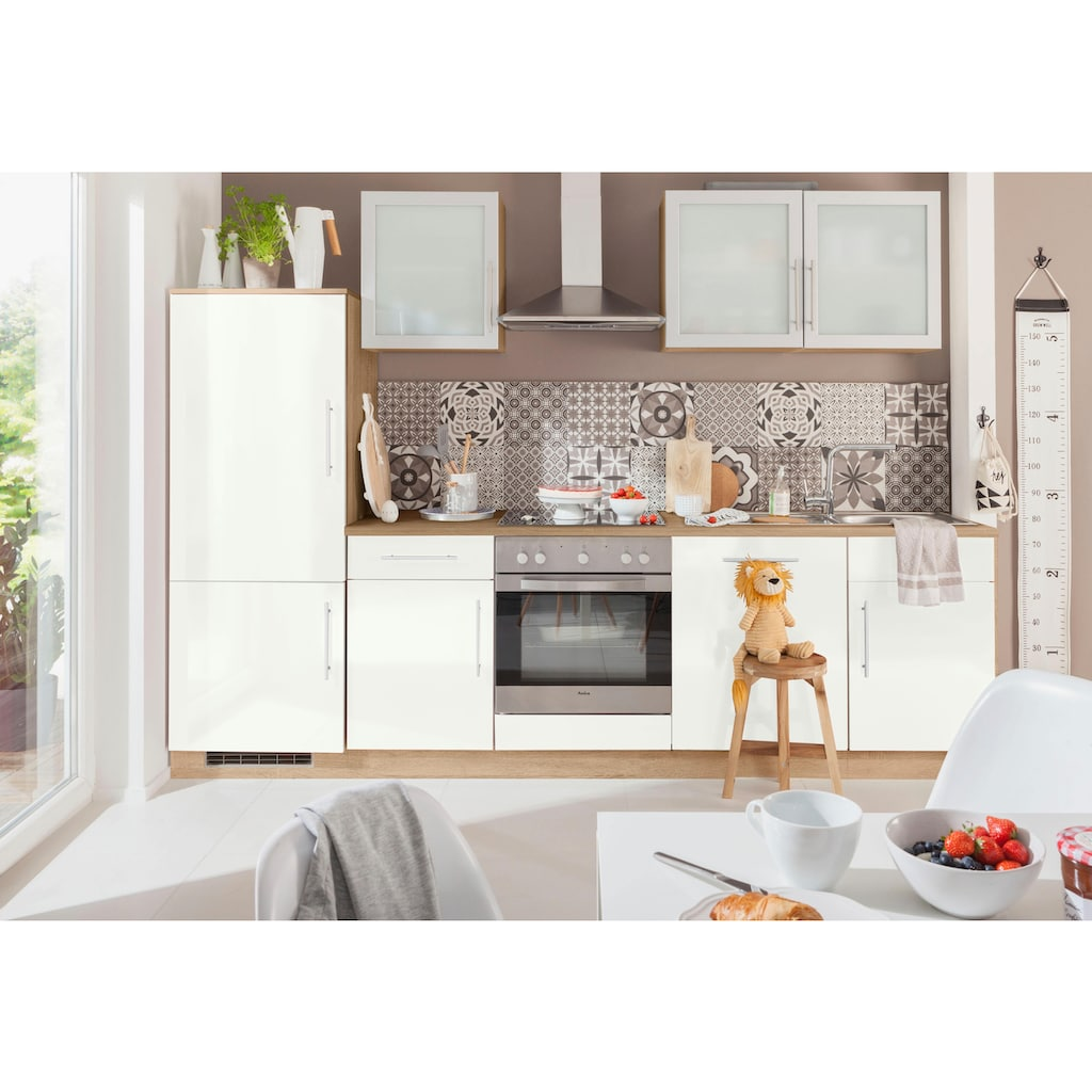 wiho Küchen Kühlumbauschrank »Aachen«