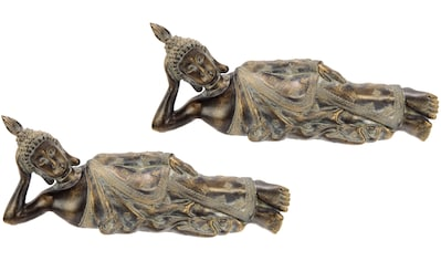 I.GE.A. Buddhafigur »Polyresin«, 2er Set kaufen