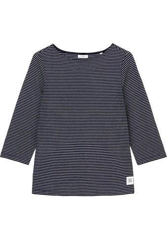 Marc O'Polo DENIM Langarmshirt, im schönen Ringel-Look kaufen