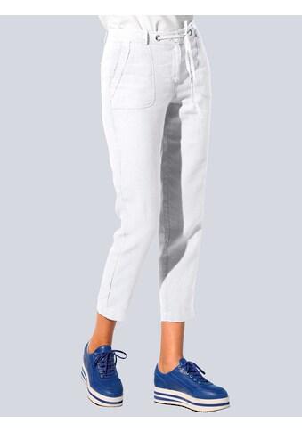 Alba Moda Leinenhose, in hochwertiger, reiner Leinenqualität kaufen