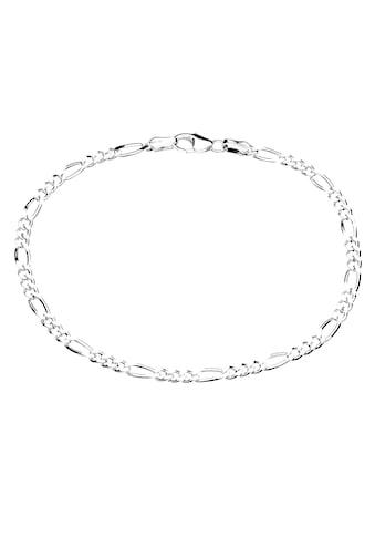 Firetti Silberarmband »Figarokettengliederung 3:1, 2,8 mm breit, glanz, 2 - fach diamantiert« kaufen