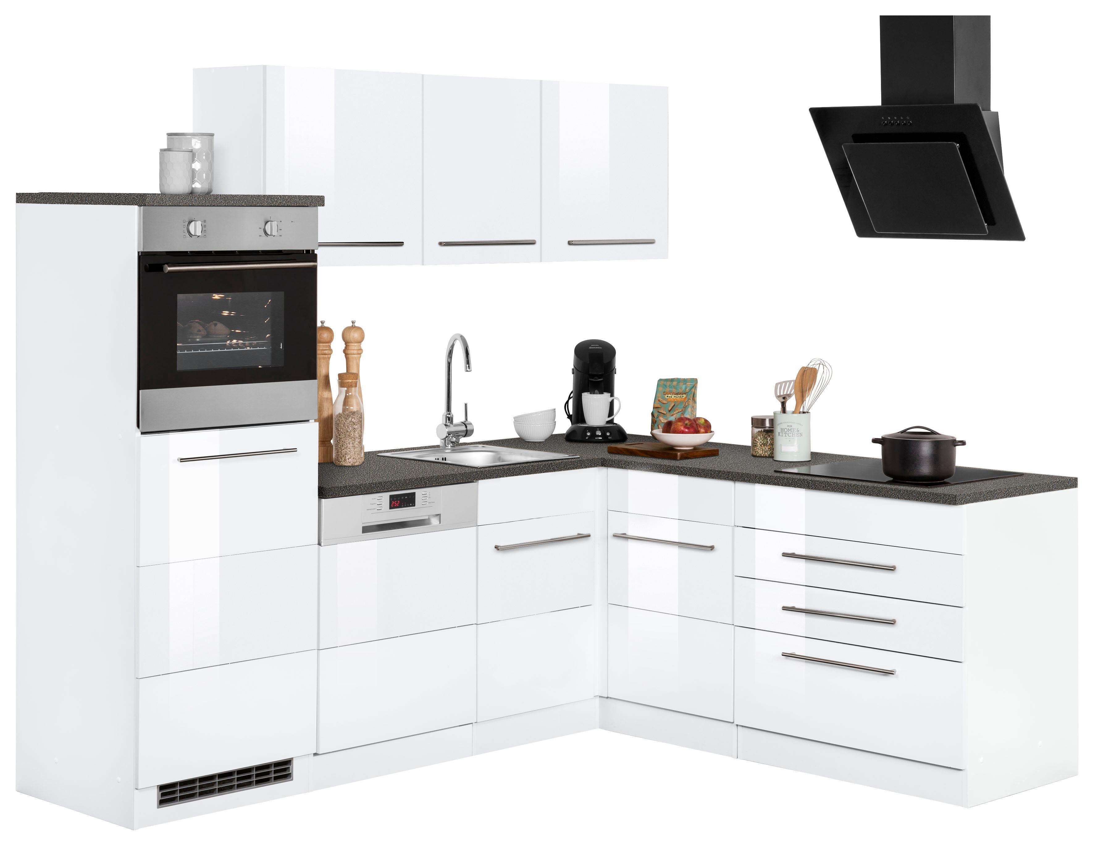 Winkelküche Trient mit E-Geräten Stellbreite 230 x 190 cm