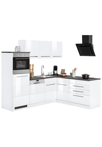 HELD MÖBEL Winkelküche »Trient«, mit E-Geräten, Stellbreite 230 x 190 cm kaufen