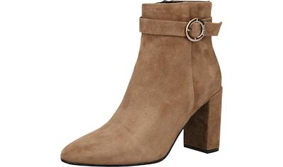 Scapa High-Heel-Stiefelette »Veloursleder« kaufen