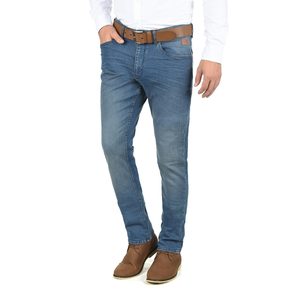 Blend 5-Pocket-Jeans »Taifun«, Denim Hose mit leichten Washed-Out Effekten