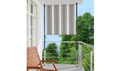 Angerer Freizeitmöbel Klemm-Senkrechtmarkise, anthrazit/grau, BxH: 150x225 cm kaufen
