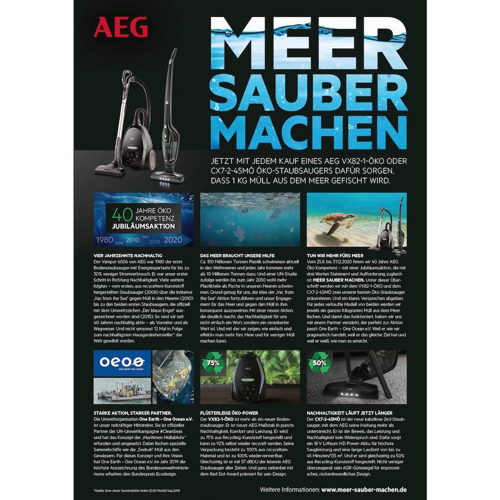AEG Bodenstaubsauger »VX82-1-ÖKO«, 600 W, mit Beutel