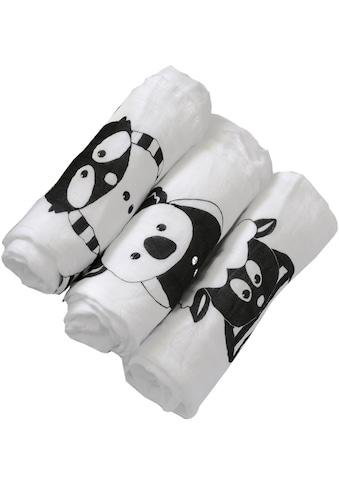 smarTrike® Stoffwindeln, »toTs Bambus Muslin Wickeltücher Waschbär« kaufen