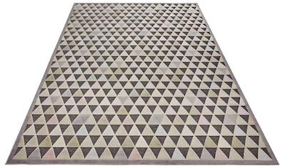 ELLE Decor Teppich »Aisne«, rechteckig, 8 mm Höhe, Hoch-Tief-Struktur, Wohnzimmer kaufen