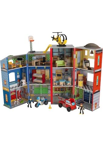 KidKraft® Puppenhaus »Helden des Alltags«, mit Zubehör kaufen