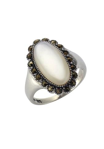 Zeeme Ring »925/ -  Sterling Silber Perlmutt Markasit« kaufen