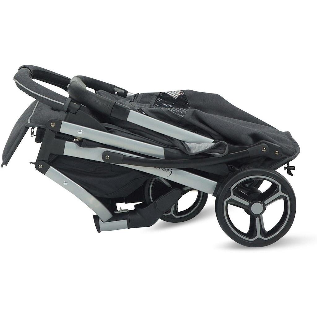 Knorrbaby Kinder-Buggy »X-Easy-Fold, melange anthrazit«, 15 kg, Kinderwagen, Buggy, Sportwagen, Sportbuggy, Kinderbuggy, Sport-Kinderwagen