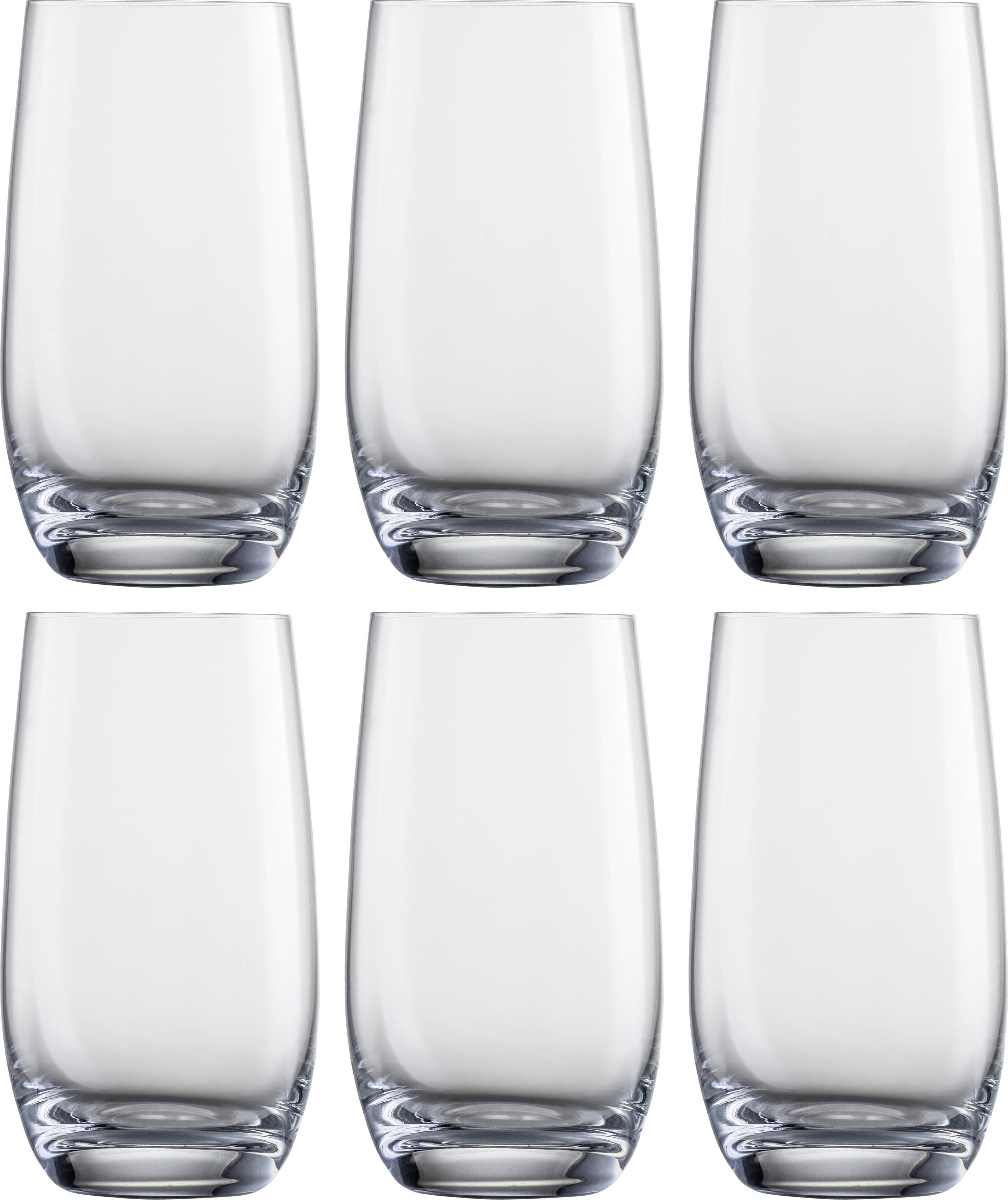Eisch Becher Becher, (Set, 6 tlg.), bleifreies Kristallglas, 350 ml farblos Kristallgläser Gläser Glaswaren Haushaltswaren