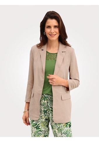 Mona Longblazer, aus sommerlicher Leinenmischung kaufen