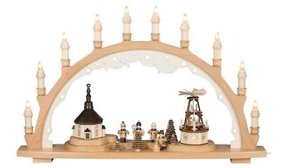 SAICO Original Lichterbogen Seiffener Weihnacht, 12flammig elektrisch beleuchte kaufen