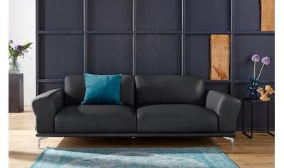 W.SCHILLIG 2,5-Sitzer »montanaa«, mit Metallfüßen in Chrom glänzend, Breite 232 cm kaufen