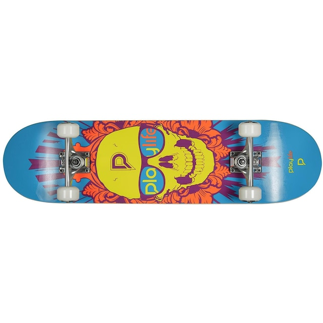 Playlife Skateboard »Skullhead«